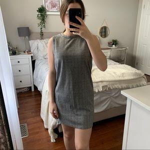 Plaid Mini Dress   Sleeveless Dress